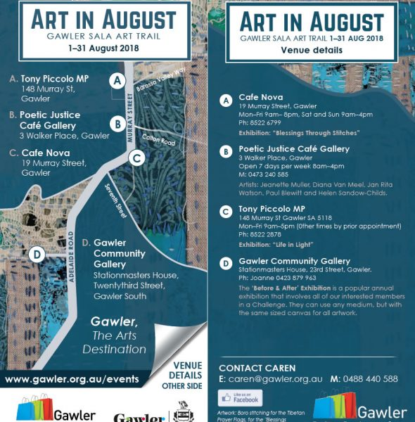 """Art in August Exhibition """"Before & After"""""""