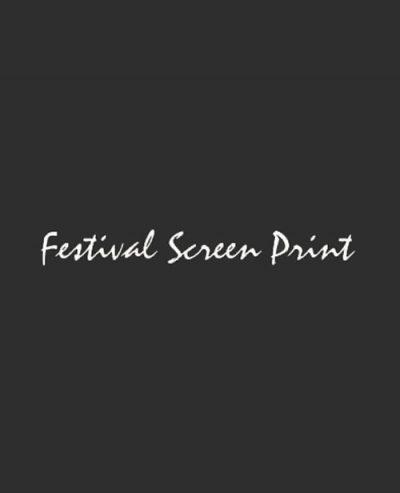 Festival Screen Print