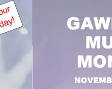 Gawler Music Month – November 2018 – Register Your Venue Today