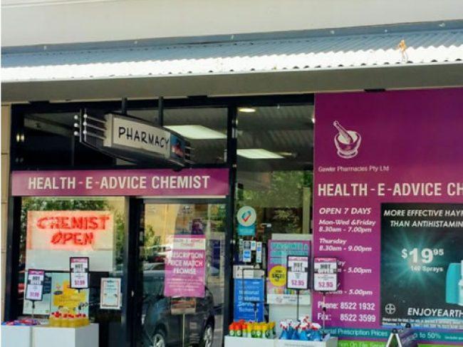 Health-E Advice Chemist