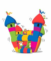 Jumping Jelly Beanz Castle Hire