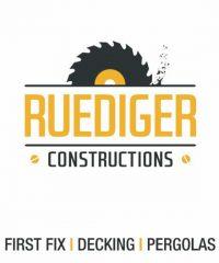 Ruediger Constructions