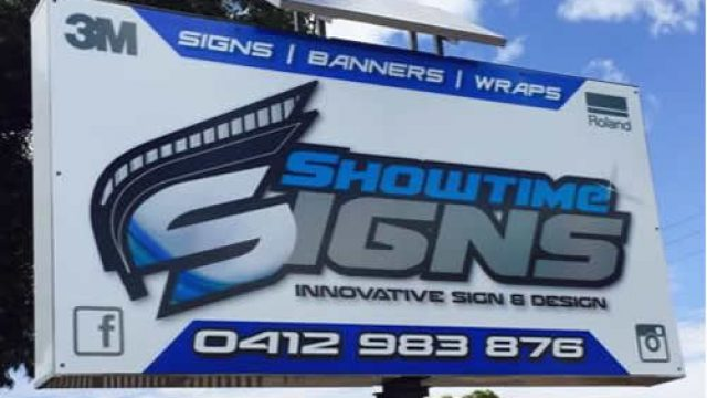 Showtime Signs